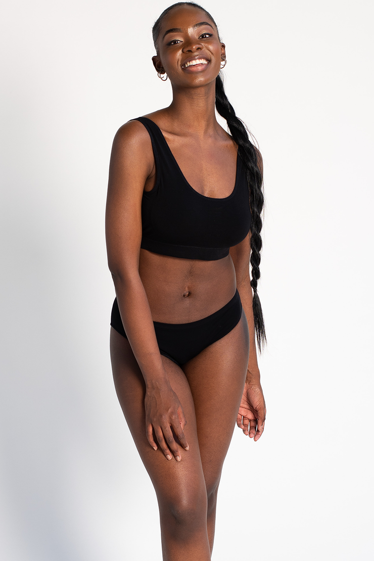 Essential Bralette - Black