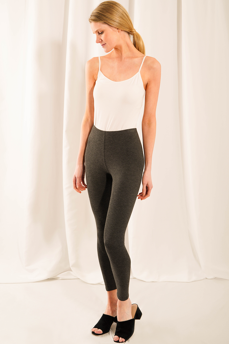 LNBF Suri Leggings in Full Length - Charcoal