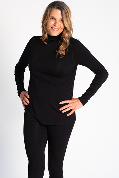 Lynda Turtleneck - Black