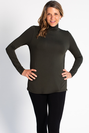 Lynda Turtleneck - Olive