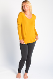 Charis Long Sleeve T-shirt - Harvest Gold