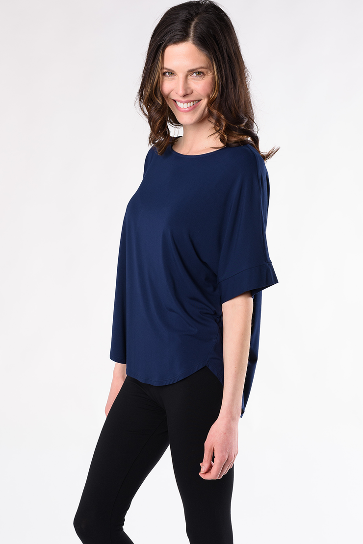 Laura Relaxed Fit Blouse - Ink