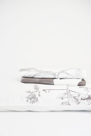 Terrera White Bloom Duvet Cover Set