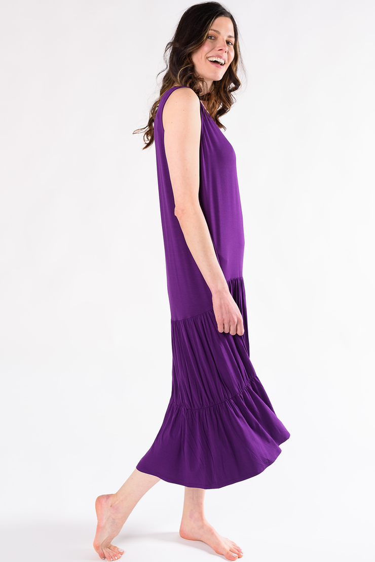 Allison Maxi Dress - Beach Berry