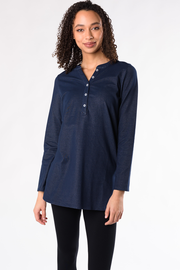 Tina Denim Tunic - Blue Denim