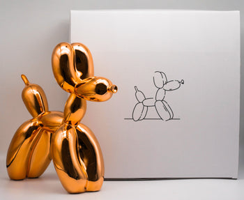 Balloon dog Orange - Jeff Koons (after)