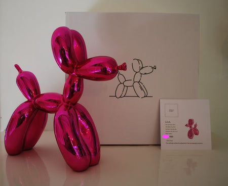 Balloon dog Pink - Jeff Koons (after)