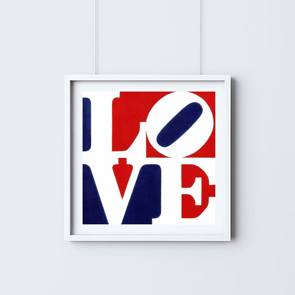 Robert Indiana (after)  - LOVE (Red & Blue)