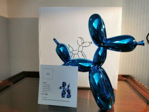 Balloon dog Blue - Jeff Koons (after)