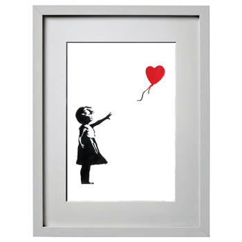 Banksy (after) - Girl with Balloon