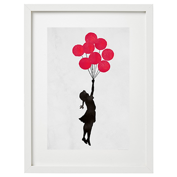 Banksy (after) - Flying Balloons