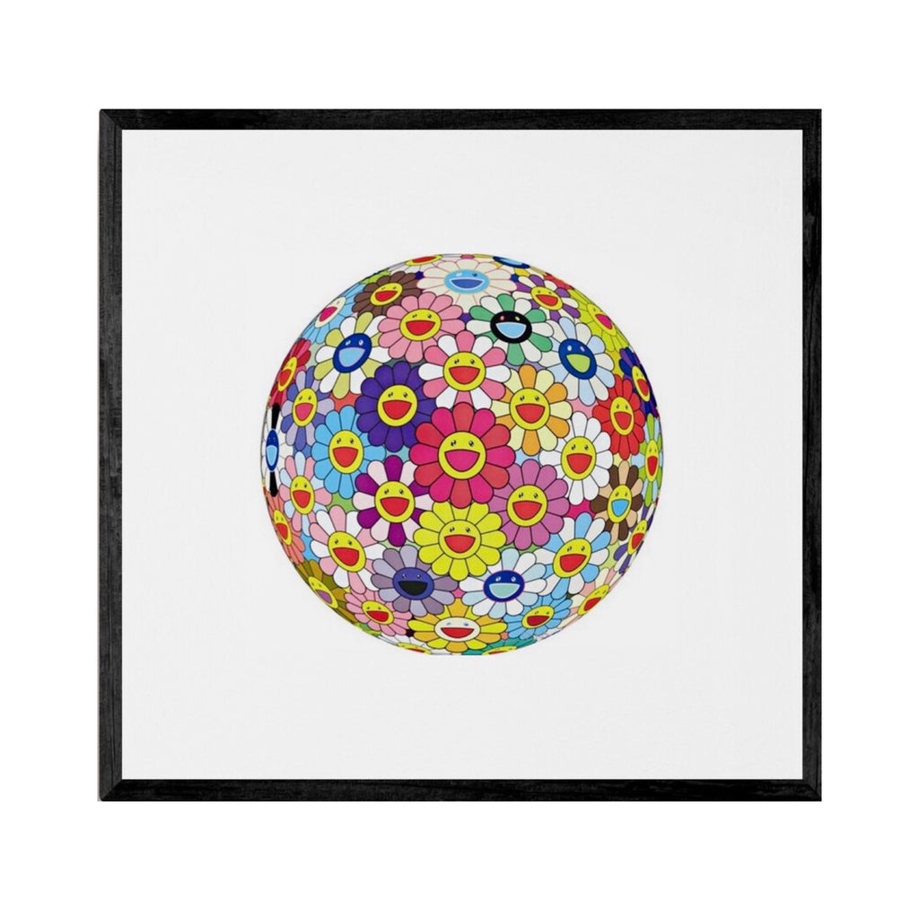 Murakami Takashi (After) - Set of 3 - Flower Ball - Special Offer