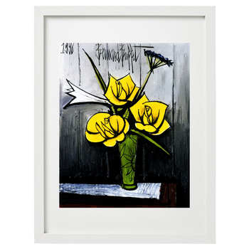 Bernard Buffet (after) - Bouquet de fleurs