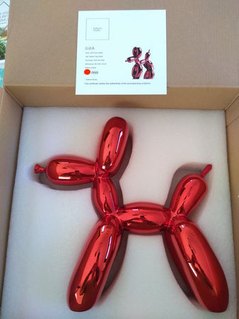 Balloon dog Red - Jeff Koons (after)