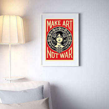 Obey (Shepard Fairey) - MAKE ART NOT WAR