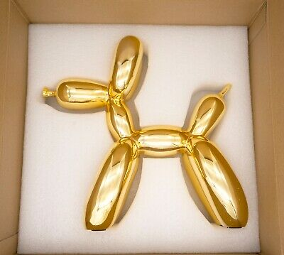Balloon dog Gold - Jeff Koons (after)