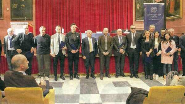 "ALBERTO FASCIANI RECEIVED ""INTERNATIONALIZATION PRIZE"" BY CONFINDUSTRIA"