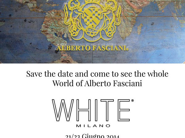 ALBERTO FASCIANI – WHITE FAIR JUNE 2014
