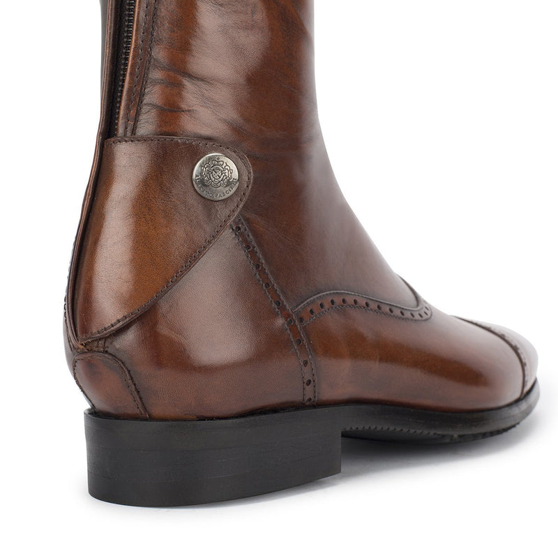 33202, Brown Standard riding boots, vista 2