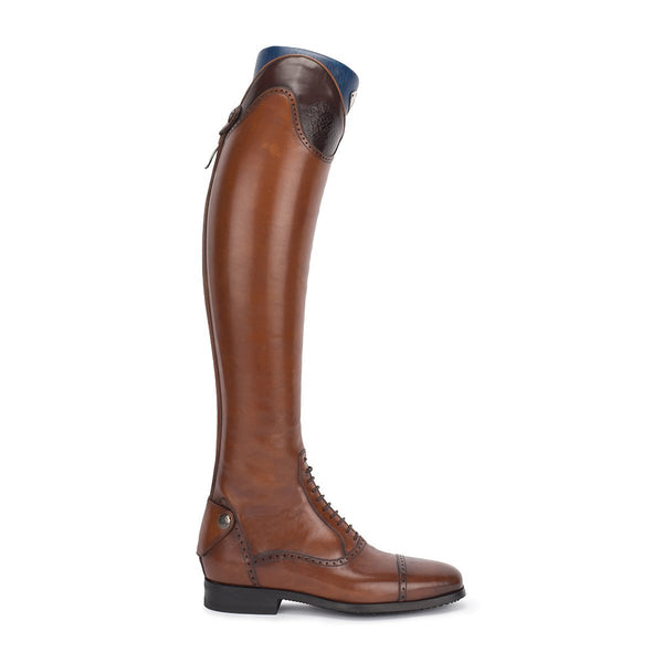33604<br>Brown standard riding boots [34 - 39]