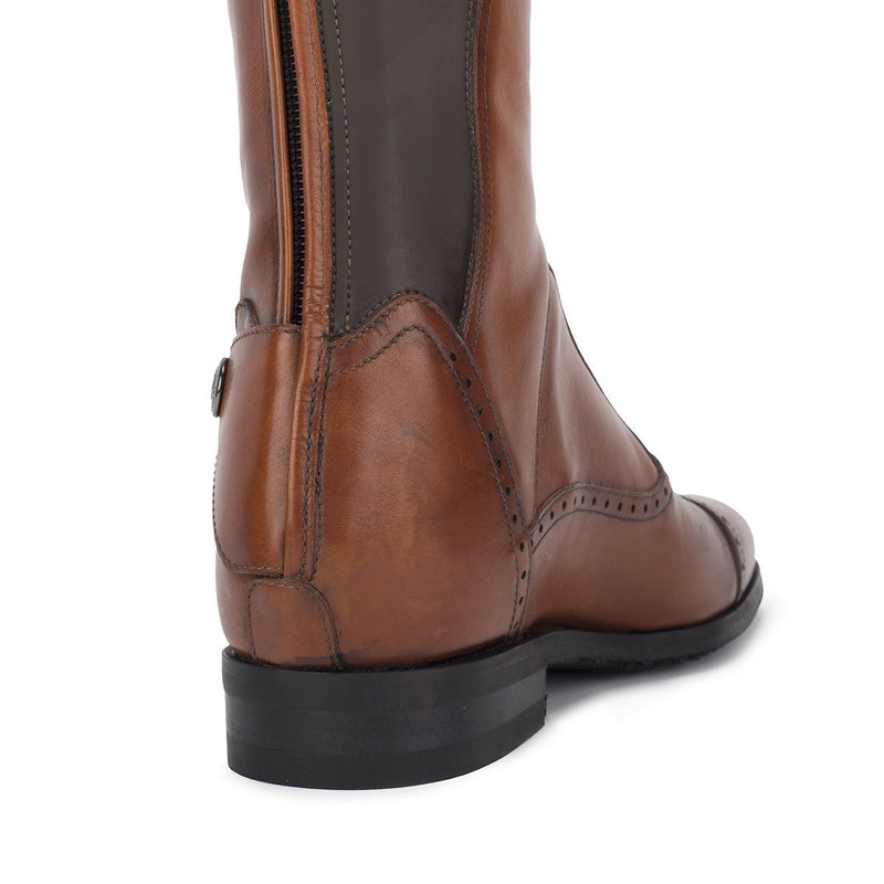 33604, Brown Standard riding boots, vista 6
