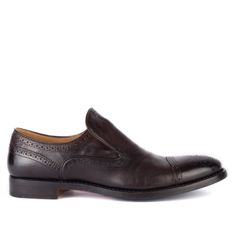 ABEL 59014 <br> Dark Brown Slip-on