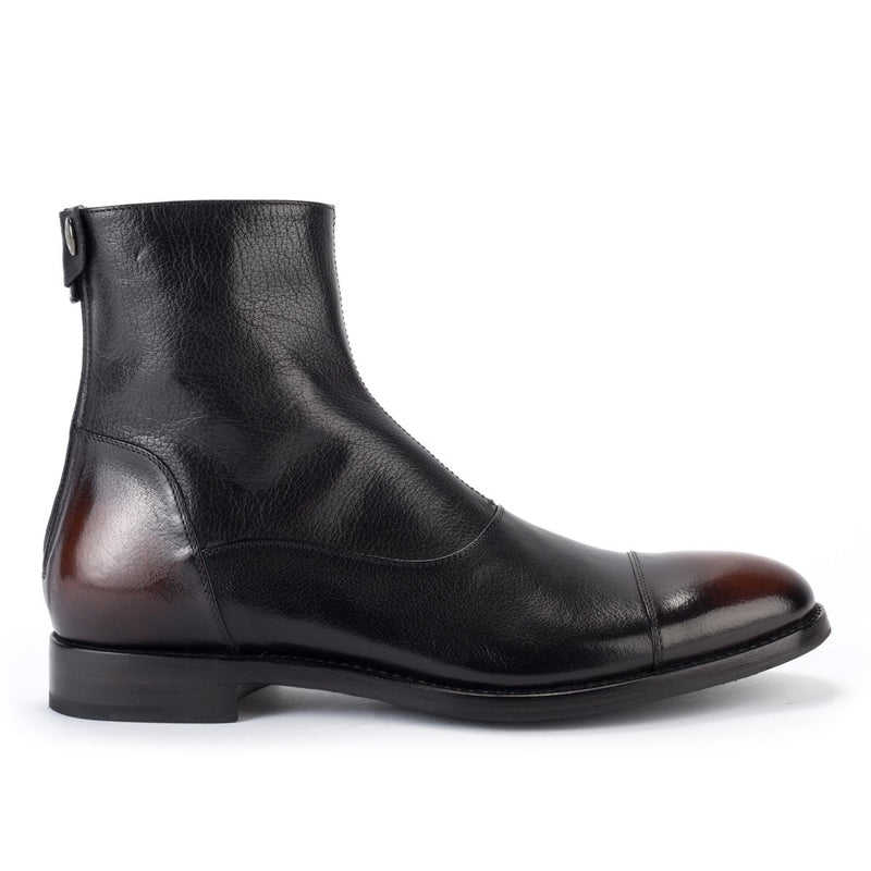 ABEL 59100<br> Black buffalo vintaged boots
