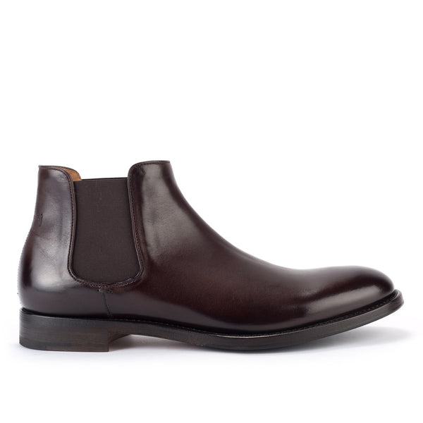 ABEL 59628<br>Brown Horse Leather Chelsea Boots
