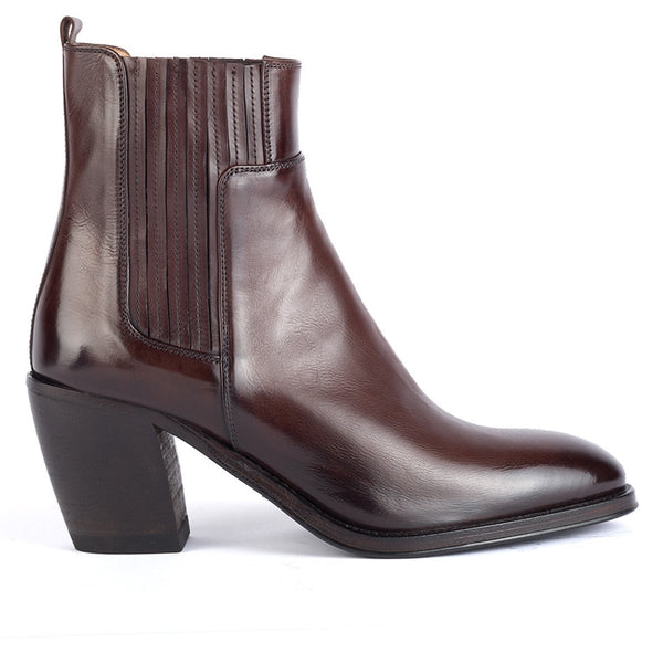 AMINA 54027<br>Brown ankle boots