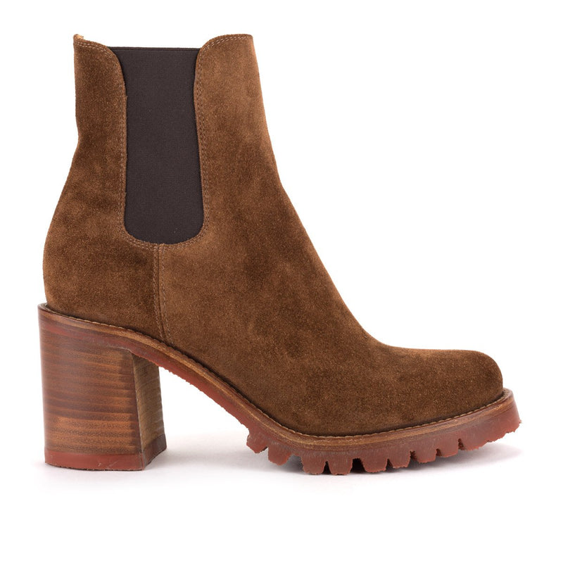 AMINA 58032<br>Chelsea Boots Brown