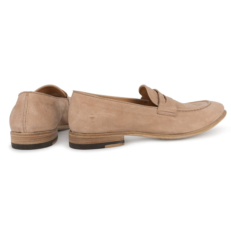 BRENDA 60038<br>Light sand loafers