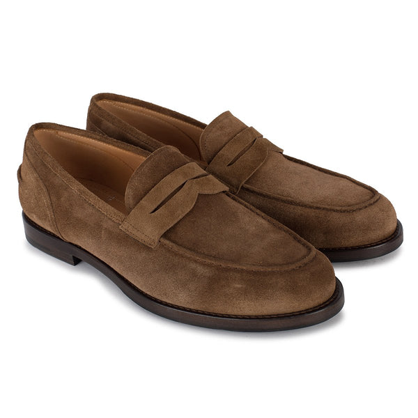 BRIAN 57020<br>Medium brown Penny loafer