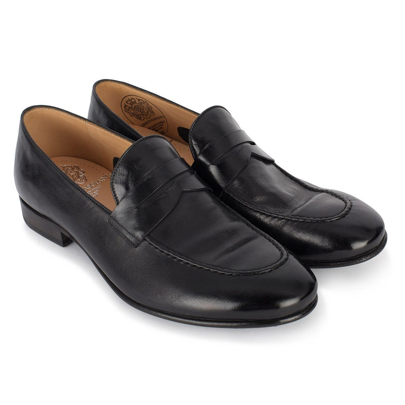 BRIAN 61011<br>Black horse loafers