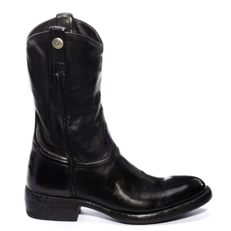 CALIPSO 505, Black ankle boots, vista 1