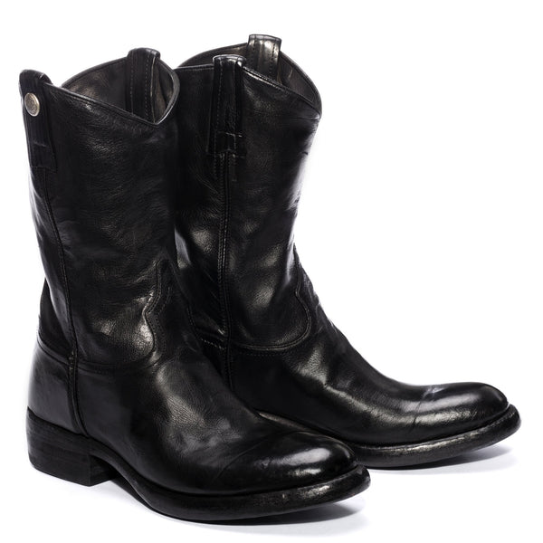 CALIPSO 505, Black ankle boots, vista 2
