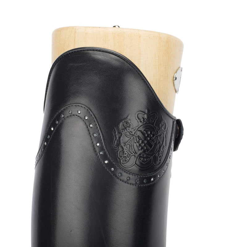 DRESSAGE, Dressage Standard riding boots with crystals, vista 5