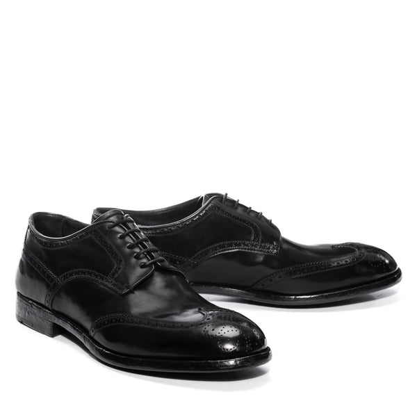 ELIAS 15004, BLACK OXFORD SHOES, vista 2
