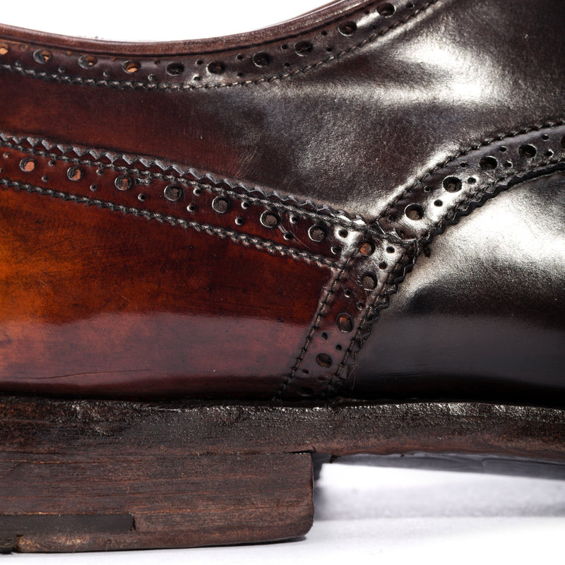 ELIAS 15004, Cordovan derby shoes, vista 3