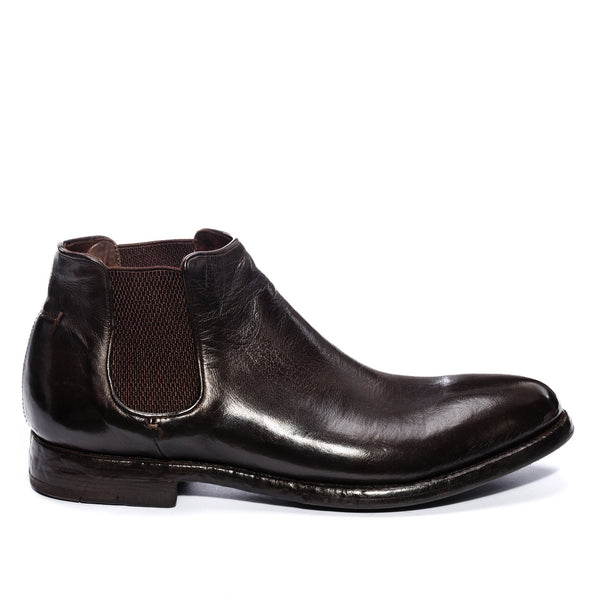 ELIAS 628 <br>Dark brown chelsea boot