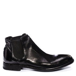 ELIAS 628 , Black washed chelsea boots, vista 1