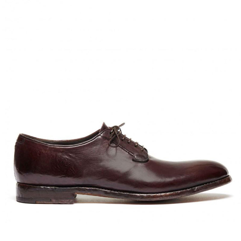ELIAS 617<br>Dark red derby shoes