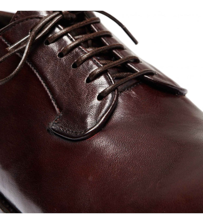ELIAS 617, Dyed horse leather Derby shoes, vista 2