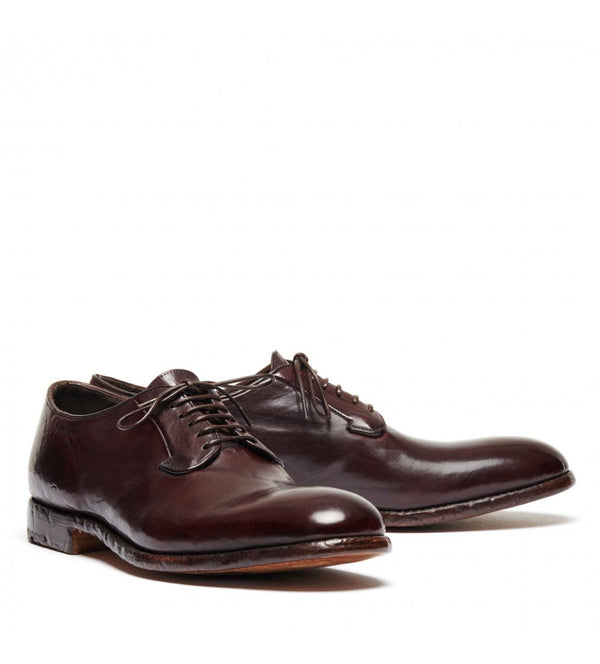 ELIAS 617, Dyed horse leather Derby shoes, vista 3