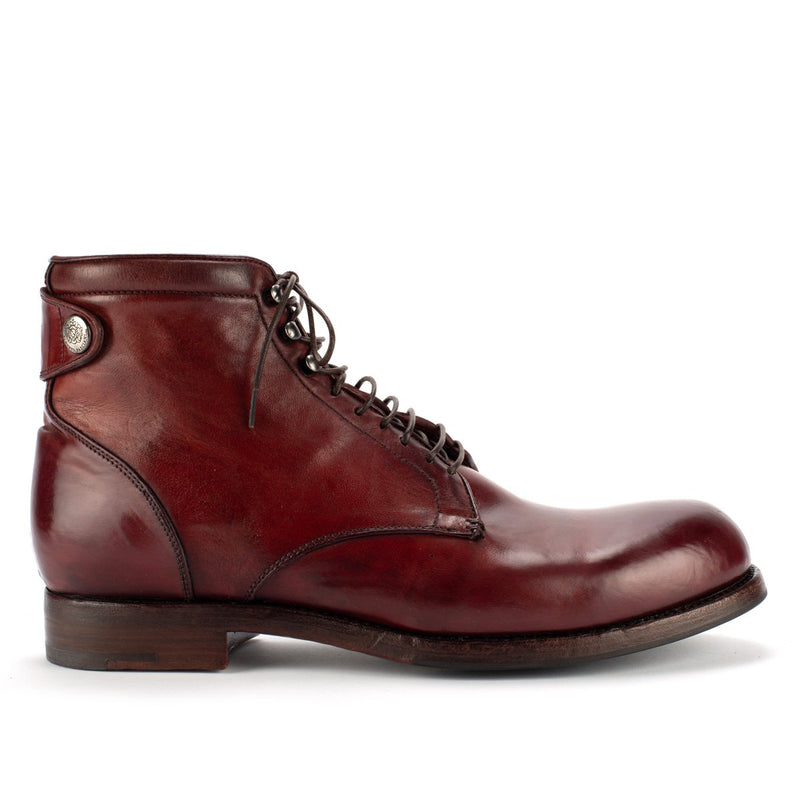 ELIAS 17024<br> Burgundy lace-up