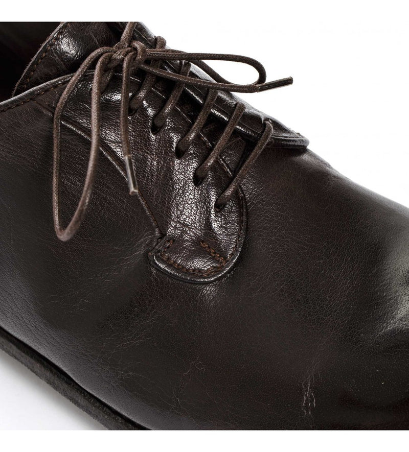 ELIAS 617<br>Dark brown derby shoes