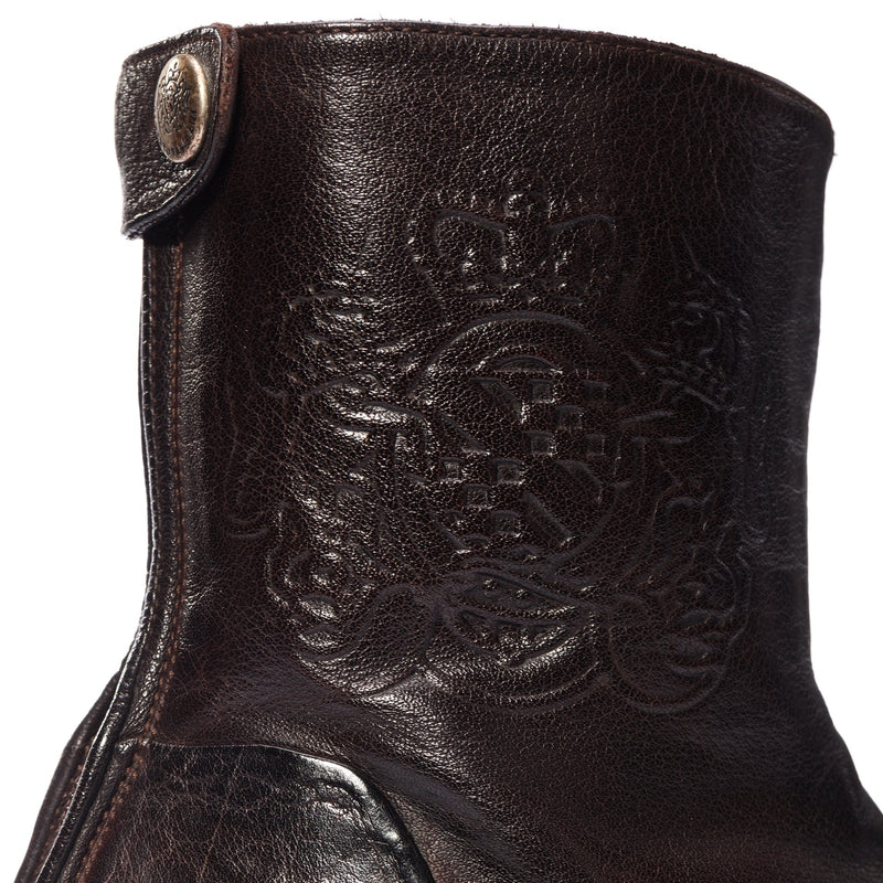 EVITA 14004, Ankle washed and dyed buffalo leather , vista 3