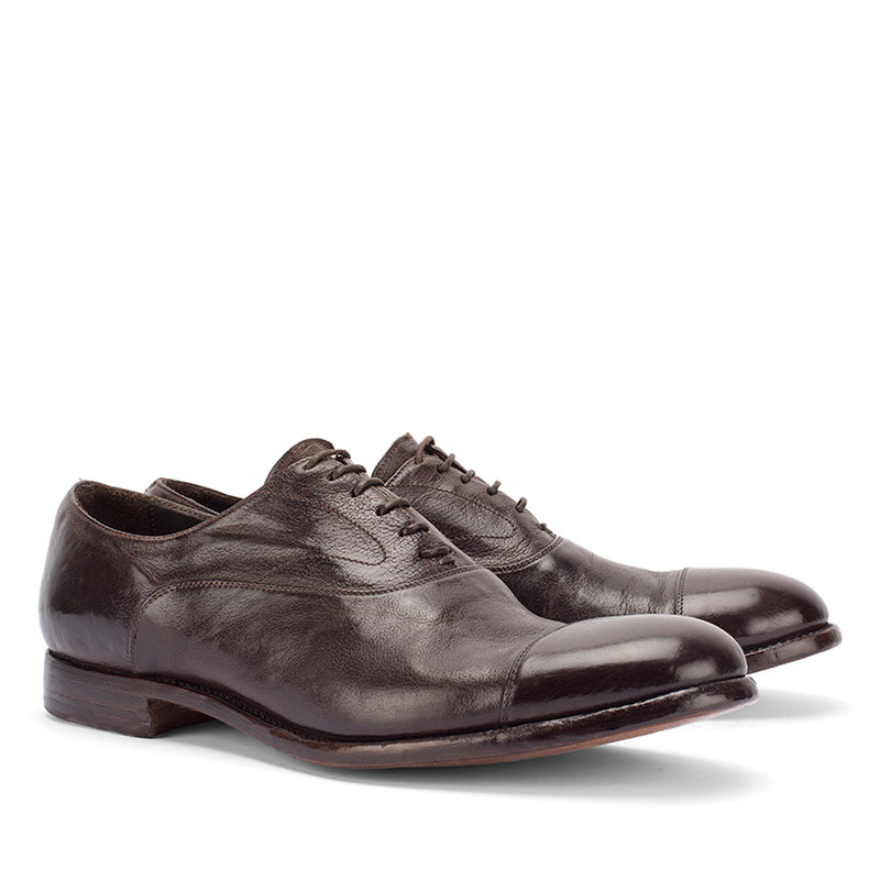 ELIAS 15012<br>Dark brown oxford shoe