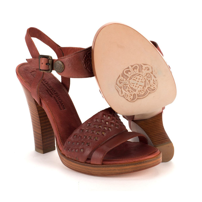 FANNY 21055 <br>Brown Sandals