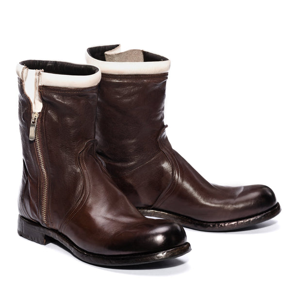 HORUS 24000, Brown Bikers boots, vista 2