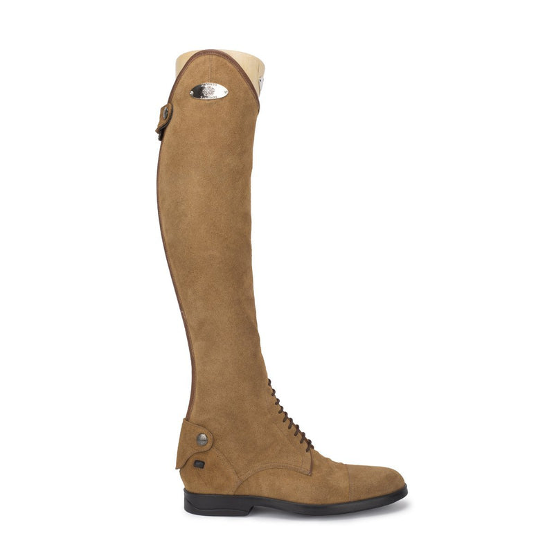 Leonardo, show jumping boots in suede, vista 1